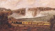 Robert Whale The Canada Southern Railway at Niagara oil