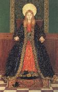 Thomas Cooper Gotch The Child Enthroned oil on canvas