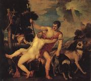 Titian Venus and Adonis china oil painting artist