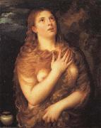 Titian Mary Magdalen oil painting reproduction