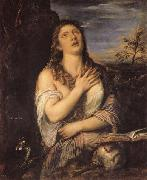 Titian Penitent Mary Magdalen oil painting reproduction