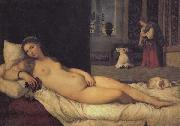 Titian Venus oil painting reproduction
