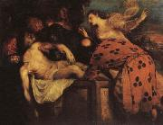 Titian The Entombment of Christ oil painting reproduction