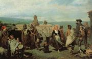 Valeriano Dominguez Becquer Bastida The Dance oil painting reproduction