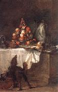 jean-Baptiste-Simeon Chardin The Buffet oil on canvas