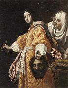 unknow artist Judith and holofernes oil painting reproduction