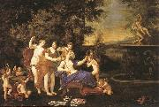 Albani  Francesco Venus Attended by Nymphs and Cupids oil