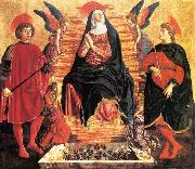 Andrea del Castagno Our Lady of the Assumption with Sts Miniato and Julian painting