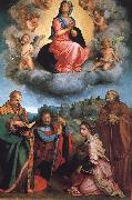 Andrea del Sarto Virgin with Four Saints china oil painting artist