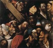 BOSCH, Hieronymus Christ Carrying the Cross oil painting reproduction