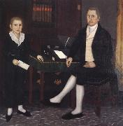 Brewster john James Prince and Son William Henry oil painting