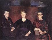 Charles Hawthorne Three Women of Provincetown oil on canvas