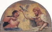 Correggio Coronation of the Virgin oil painting reproduction