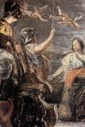 Diego Velazquez Details of The Tapestry-Weavers oil painting reproduction