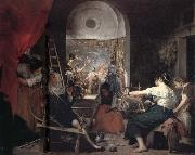 Diego Velazquez The Tapestry-Weavers oil painting reproduction