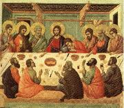 Duccio di Buoninsegna Last Supper oil painting reproduction