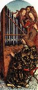 EYCK, Jan van Angels Playing Music oil painting reproduction