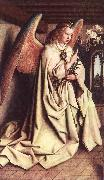 EYCK, Jan van Angel of the Annunciation oil painting reproduction