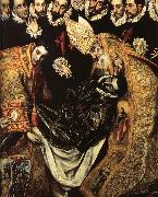 El Greco The Burial of Cout of Orgaz oil on canvas