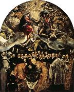 El Greco The Burial of Count of Orgaz oil painting reproduction