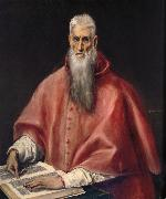 El Greco St.Jerome oil on canvas