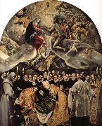 El Greco The Burial of Count Orgaz oil on canvas