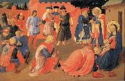 Fra Angelico The Adoration of the Magi oil painting reproduction