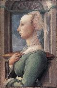 Fra Filippo Lippi portrait of a Woman oil painting reproduction