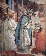 Fra Filippo Lippi Details of The Mission of St Stephen oil painting reproduction