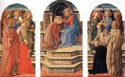 Fra Filippo Lippi The Coronation of the Virgin oil painting reproduction