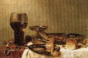 HEDA, Willem Claesz. Still Life oil painting reproduction