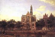 HEYDEN, Jan van der View of the Westerkerk, Amsterdam china oil painting artist