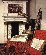 HEYDEN, Jan van der Still-life with Rarities oil painting reproduction