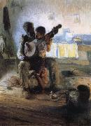 Henry Ossawa Tanner The Banjo Lesson oil on canvas