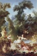 Jean-Honore Fragonard The Progress of love oil painting reproduction