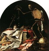 Juan de Valdes Leal Allegory of Death oil painting reproduction