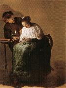 Judith leyster The Proposition oil painting