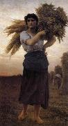 Jules Breton La Glaneuse oil painting reproduction