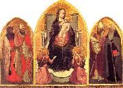 MASACCIO San Giovenale Triptych oil painting reproduction