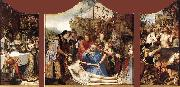 MASSYS, Quentin St John Altarpiece oil painting reproduction