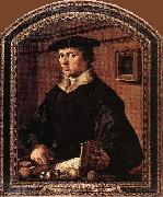 Maerten van heemskerck Portrait of Pieter Bicker Gerritsz. oil on canvas