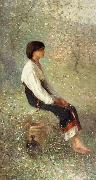 Nicolae Grigorescu Spring oil painting reproduction