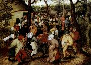 Pieter Bruegel Rustic Wedding oil painting