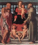 Pontormo, Jacopo Madonna and Child with Two Saints oil painting reproduction