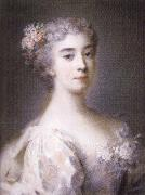 Rosalba carriera Portrait of Anna Sofia Enrichetta of Modena oil