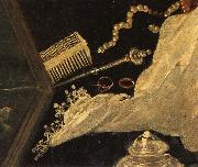Tintoretto Details of Susanna and the Elders oil on canvas