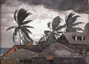 Winslow Homer Ouragan aux Bahamas painting