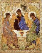 unknow artist Holy Trinity painting