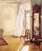 Adolph von Menzel The French Window oil on canvas