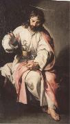 Cano, Alonso St John the Evangelist with the Poisoned Cup (mk05) oil on canvas